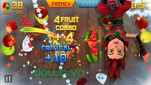 Fruit Ninja for iPhone