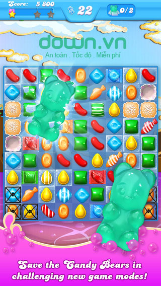 Candy Crush Soda Saga cho iOS