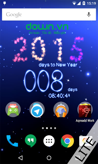 New Years Countdown to 2015 cho Android