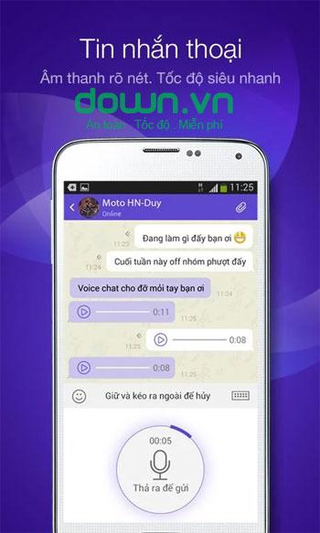 Mocha Messenger cho Android