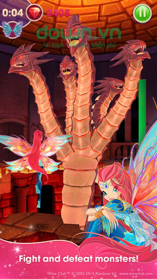 Winx Bloomix Quest cho iOS