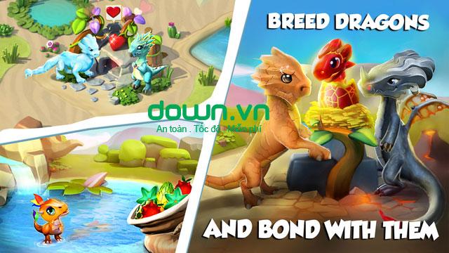 Dragon Mania Legends cho iOS