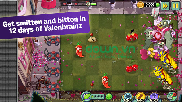 Plants vs. Zombies 2 cho Android