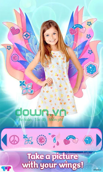 Winx Club Mythix Fashion Wings cho iOS