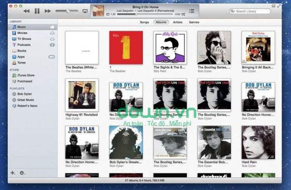 iTunes cho Windows, Mac
