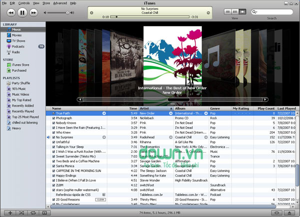 iTunes cho Windows miễn phí