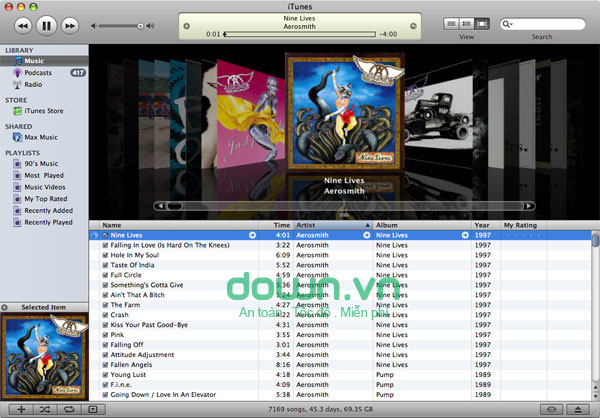 iTunes cho máy tính miễn phí