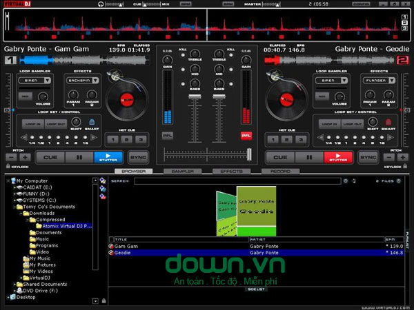 VirtualDJ 8.0 build 2319 cho Windows