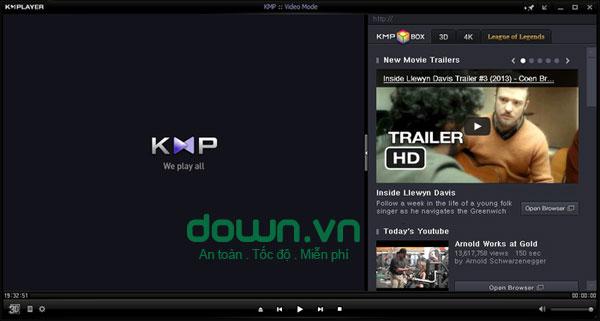 KMPlayer cho Windows