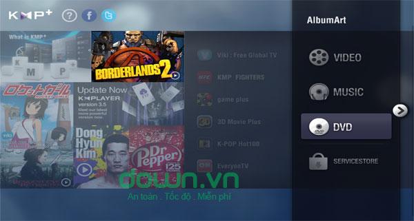 KMPlayer cho Windows miễn phí