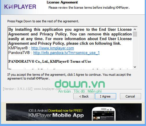 KMPlayer  phiên bản mới cho Windows