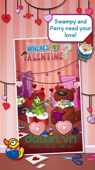 Where's My Valentine? cho iOS