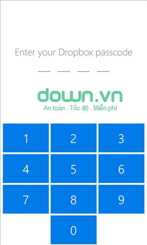 DropBox miễn phí cho Windows Phone