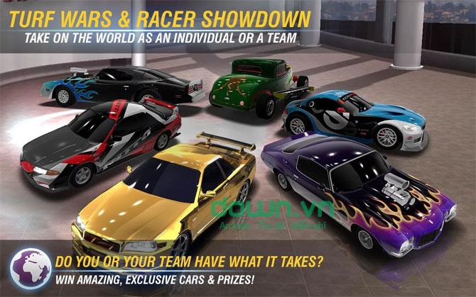 Racing Rivals cho iOS