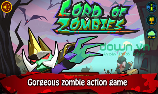 Lord of Zombies cho Widows Phone