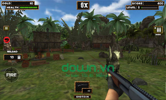 Jurassic Hunter Tom miễn phí cho Windows Phone