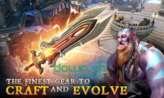 Vũ khí trong Dungeon Hunter 5
