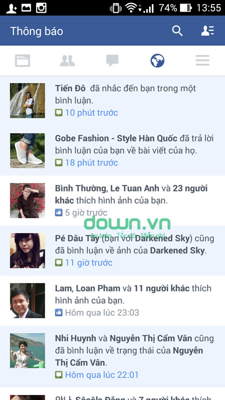 Facebook cho iOS