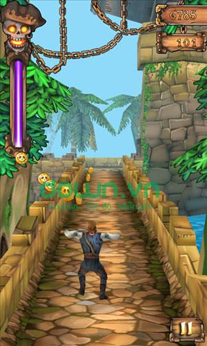 Nâng cấp power up trong Pirates Don't Run