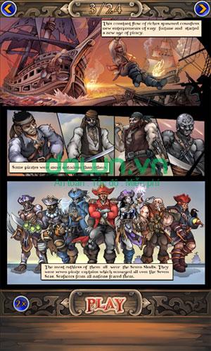 Sưu tập card về thế giới cướp biển