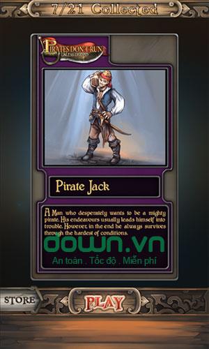 Card câu truyện về cướp biển