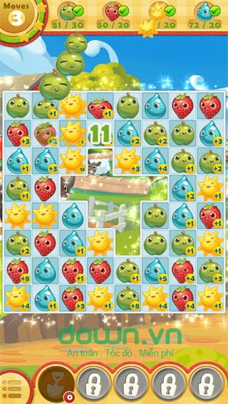 Game nối ô trí tuệ cho iOS