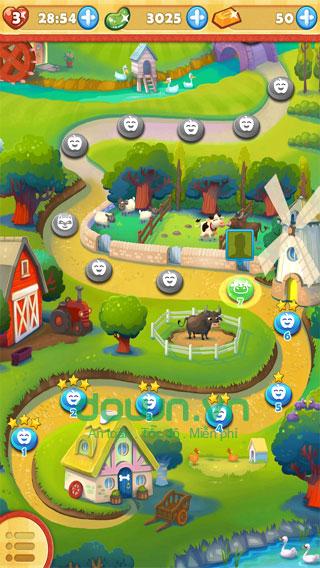 Tính năng trong phiên bản mới của Farm Heroes Saga