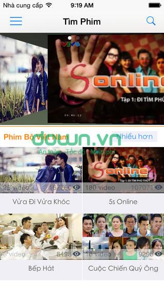 Ứng dụng xem phim HD cho iOS