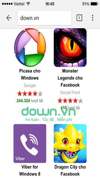 Duyệt web siêu tốc trên iPhone/iPad
