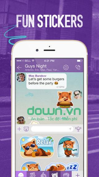 Ứng dụng nhắn tin, gọi điện thoại cho iOS