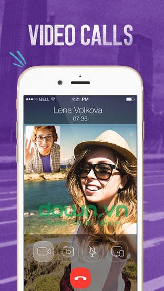 Viber nhắn tin, gọi miễn phí cho iOS