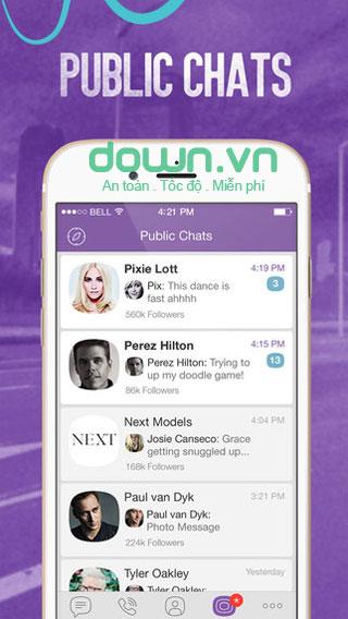 Viber cho iOS