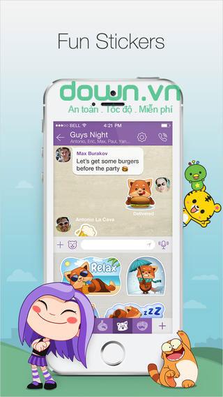 Ứng dụng nhắn tin, gọi thoại miễn phí cho iOS