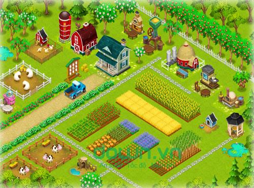 Game nông trại HayDay miễn phí cho iOS