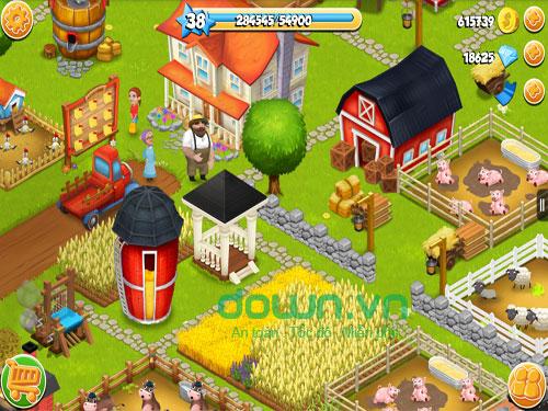Game nông trại cho iOS