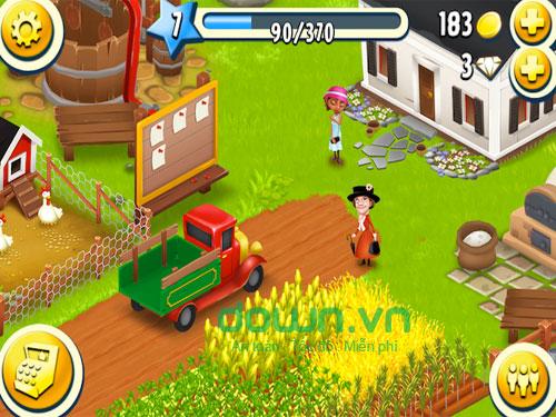 Tải game nông trại Hay Day cho iPhone