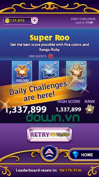 Game xếp kim cương Match 3 cho iOS