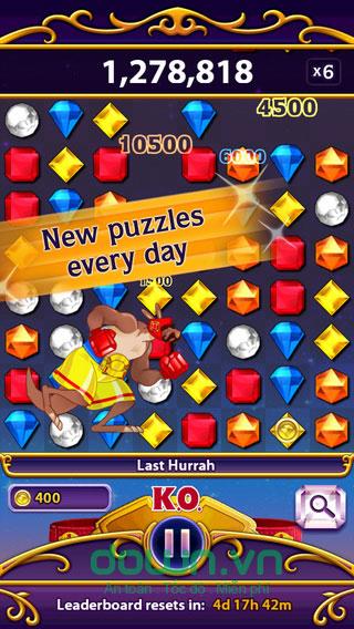 Game nối kim cương Match 3 trí tuệ cho iOS