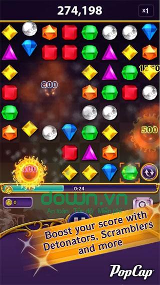 Game nối kim cương trí tuệ cho iPhone/iPad