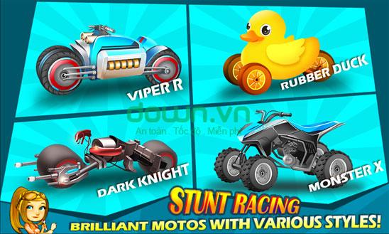 Stunt Racing game đua cho Windows Phone
