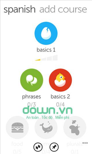 Duolingo cho iOS