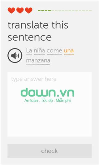 Duolingo học ngoại ngữ cho iOS