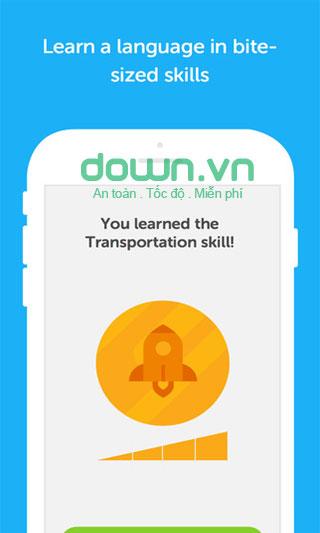 Duolingo học ngoại ngữ miễn phí cho iOS