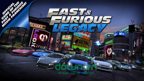 Fast & Furious: Legacy cho iOS
