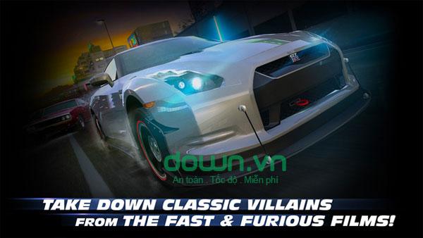 Game đua xe Fast & Furious: Legacy cho iOS