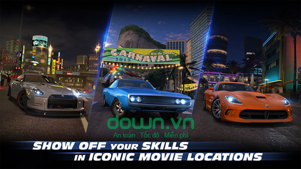 Fast & Furious: Legacy game đua xe