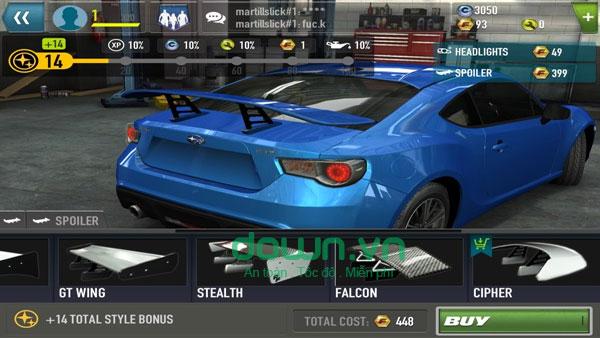Những cuộc đua xe trong Fast & Furious: Legacy