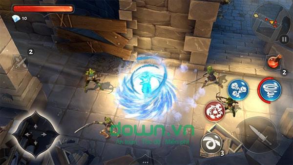 Dungeon Hunter 5 miễn phí cho iOS