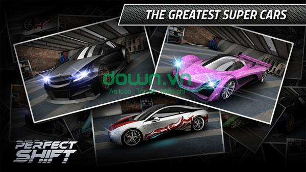 Game đua xe Perfect Shift cho iOS