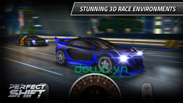 Perfect Shift game đua xe cho iPhone/iPad